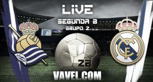 Partido Real Sociedad B vs Real Madrid Castilla en la Segunda División B 2015 (1-0)