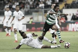 Resumen Sporting CP vs Vitória de Guimarães online, jornada 24, liga NOS. (1-1)