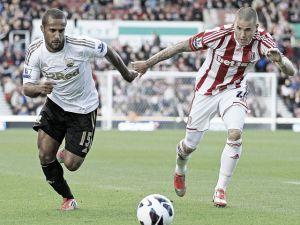 Resultado Swansea vs Stoke City en la Premier League 2015 (0-1)