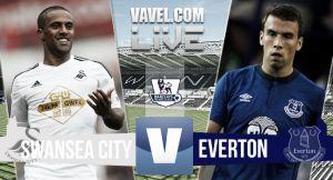 Resultado Swansea City vs Everton en la Premier League 2015 (1-1)