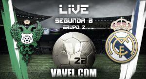 Resultado Toledo vs Real Madrid Castilla en la Segunda División B 2015 (0-1)