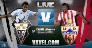 Albacete Balompié - UD Almería, en directo online