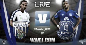 West Bromwich Albion vs Everton en vivo y en directo online