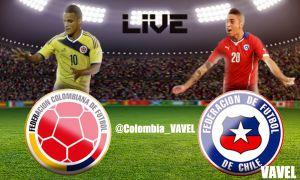 Colombia vs Chile en vivo online