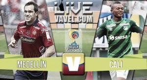 Resultado Independiente Medellín 1-1 Deportivo Cali por la Liga Águila 2016 I