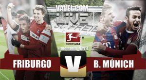 Resultado Friburgo vs Bayern de Múnich en Bundesliga 2015 (2-1)