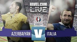 Resultado Azerbaiyán vs Italia en la Clasificación Eurocopa Francia 2016 (1-3)