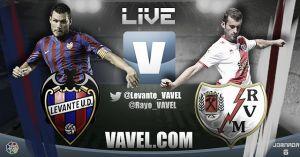Levante vs Rayo Vallecano en vivo y en directo online