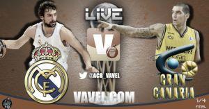 Real Madrid - Herbalife Gran Canaria en directo online