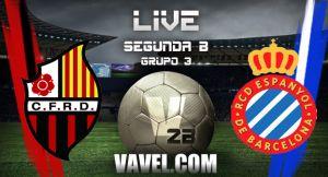 CF Reus Deportiu - Espanyol B en directo online