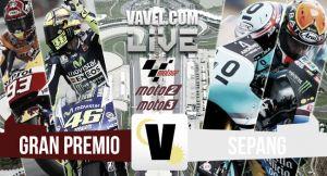 Resultado clasificación de Moto2 del GP de Malasia 2015