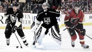 Crosby, Quick y Monahan, son las estrellas de la semana
