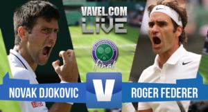 Risultato Djokovic - Federer, Finale Wimbledon 2015: Djokovic campione, Federer si inchina (3-1)