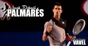 Novak Djokovic: palmarés
