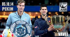 Djokovic - Berdych: recital de poesía serbia