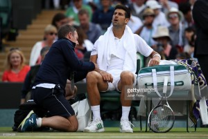 Wimbledon 2017: Djokovic forced to retire against Berdych