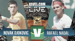 Resultado Nadal vs Djokovic en Montecarlo 2015 (0-2)