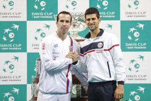 Copa Davis: Djokovic da el primer punto a Serbia