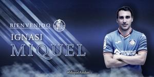 Ignasi Miquel, nueva incorporación azulona