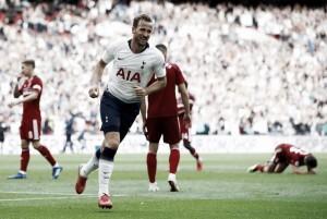 Artilheiro do Tottenham, Harry Kane comemora quebra de tabu e vitória sobre Fulham
