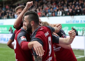 SpVgg Greuther Fürth 1-3 1. FC Nürnberg: Der Club win competitive Franconian derby