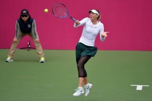WTA Tianjin - Sharapova veloce, Errani di carattere