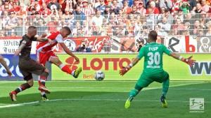 1. FC Union Berlin 4-1 FC St. Pauli: Hosts topple former leaders to stay unbeaten