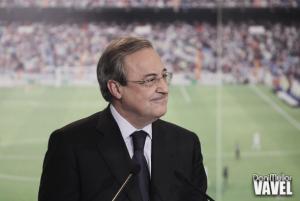 """Florentino Pérez: """"Ancelotti trata a los jugadores como una familia"""""""