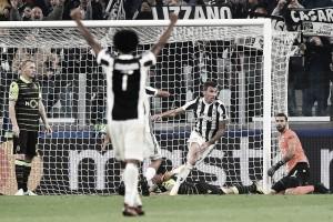 Com gol de 'herói' Mandzukic, Juventus bate Sporting-POR de virada e espanta má fase