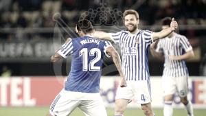 Resumen Vardar 0-6 Real Sociedad en Europa League 2017