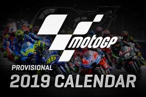 MotoGP - Ecco il calendario provvisorio per il 2019