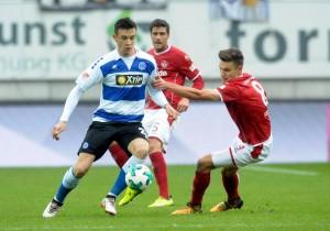 1. FC Kaiserslautern 0-1 MSV Duisburg: Dustin Bomheuer moves Zebras clear of bottom three