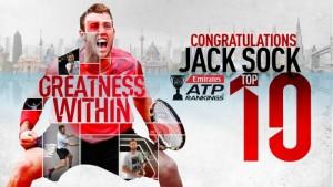 ATP Finals - Jack Sock, l'infiltrato
