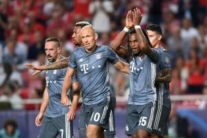 Champions League - Il Bayern Monaco non sbaglia, asfaltato il Benfica 2-0