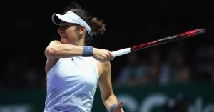 WTA Finals - Garcia batte Wozniacki, Halep crolla con Svitolina