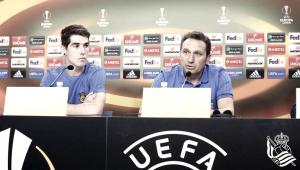 Declaraciones previas al duelo ante el FK Vardar