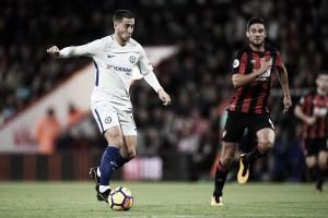 Conte tenta l'Hazard..o e vince: Bournemouth battuto 0-1