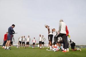 Champions League - PSG vs Anderlecht, allenamento di coppa