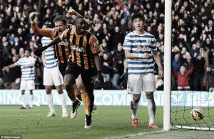 Hull City 2-1 Queens Park Rangers: N'Doye the hero for Tigers