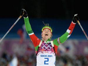Sochi 2014, Domracheva nella leggenda, sua anche la Mass Start