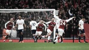 Premier League - Mustafi e Sanchez stendono gli Spurs: il North London Derby è dei Gunners