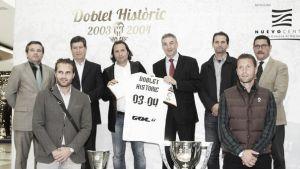 Exposición 'Doblete Histórico 2003-2004' en Nuevo Centro