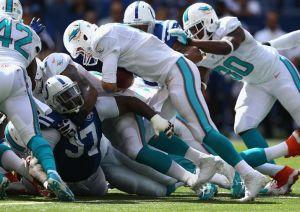 Los Dolphins derriban el feudo de Indianapolis