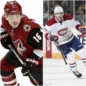 Arizona Coyotes trade Max Domi to Montreal Canadiens for Alex Galchenyuk