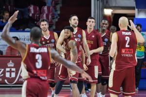 FIBA Champions League - Reyer a corrente alternata, ma è di Orelik la tripla che batte il Bayreuth (70-67)