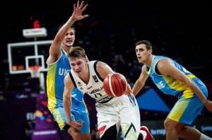 Eurobasket 2017 - Show di Randolph e Doncic, Slovenia a valanga sull'Ucraina (79-55)