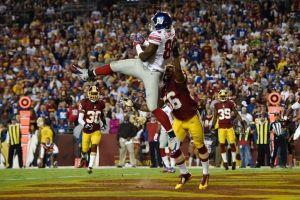 Los Giants humillan a los Resdskins, redondeando una noche perfecta para New York