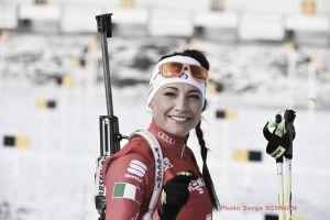 Biathlon, sprint femminile Pokljuka: altro podio di Wierer, seconda dietro una ritrovata Soukalova!