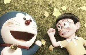 Ganadores del concurso 'Stand by me Doraemon'