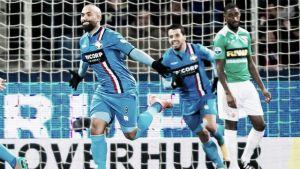 Armenteros y el Willem II brillan en la cancha del Dordrecht